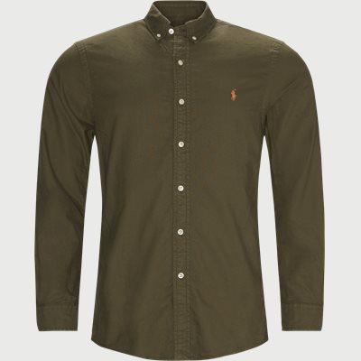 Button-Down Oxford Skjorte Slim | Button-Down Oxford Skjorte | Army