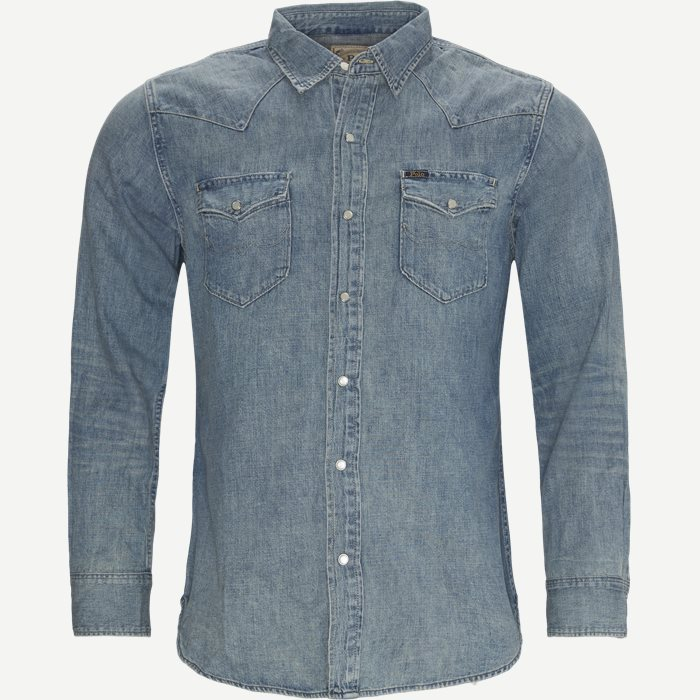 Denim Shirt - Skjortor - Regular - Denim