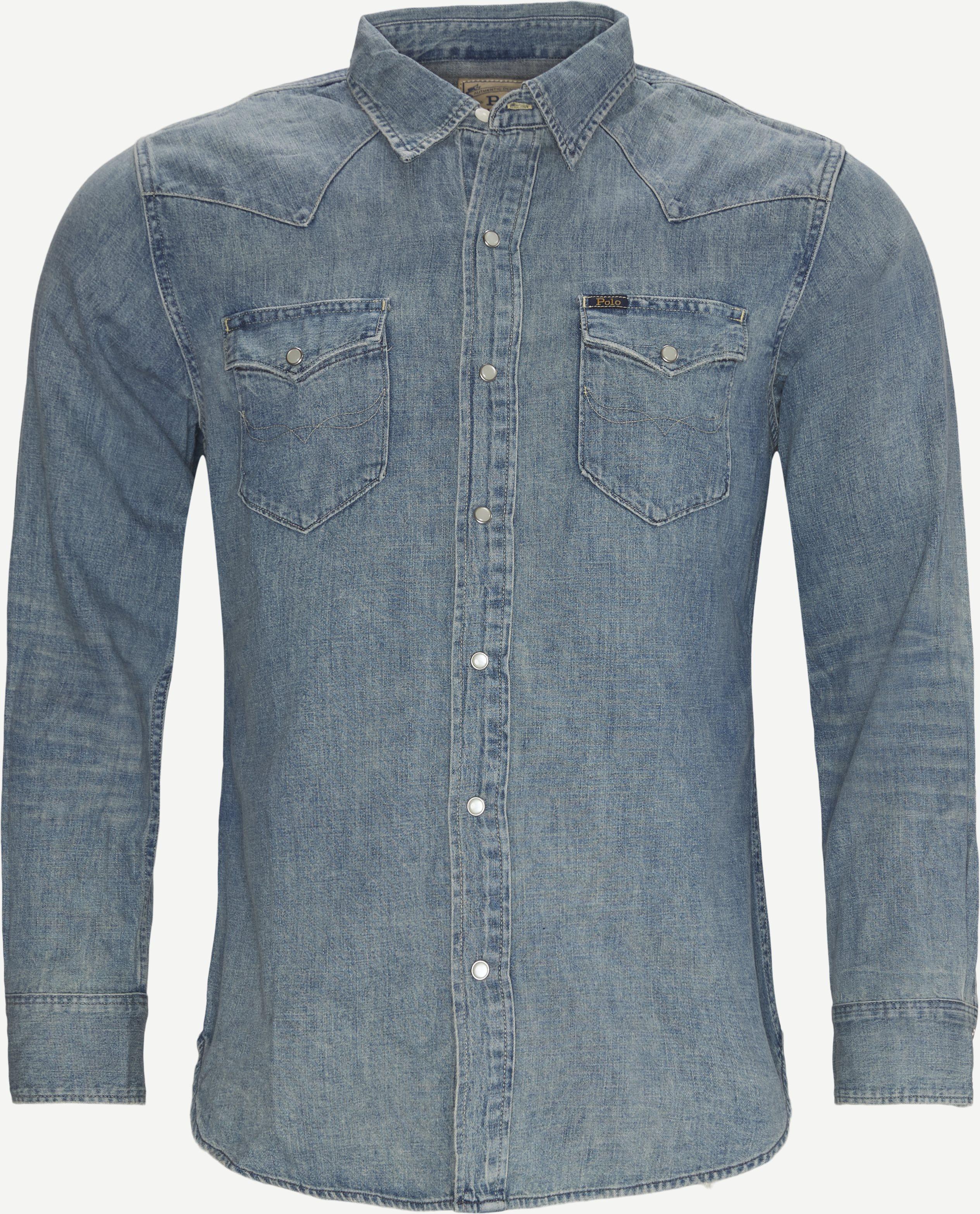 Denim Shirt - Skjortor - Regular - Denim