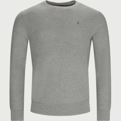 Cotton Crewneck Jumper Regular | Cotton Crewneck Jumper | Grå