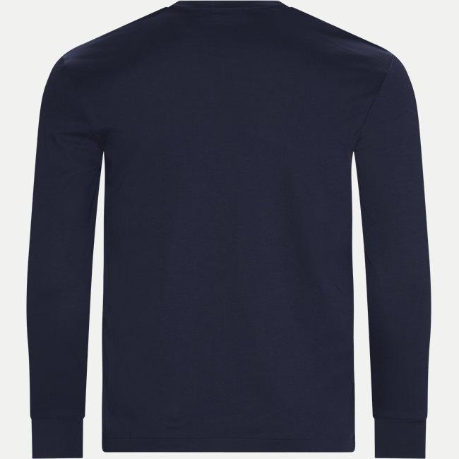 Crew Neck Langærmet T-shirt
