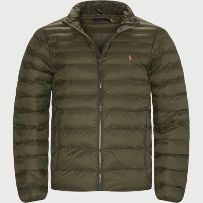 Water Repellent Logo Jacket Regular | Water Repellent Logo Jacket | Army