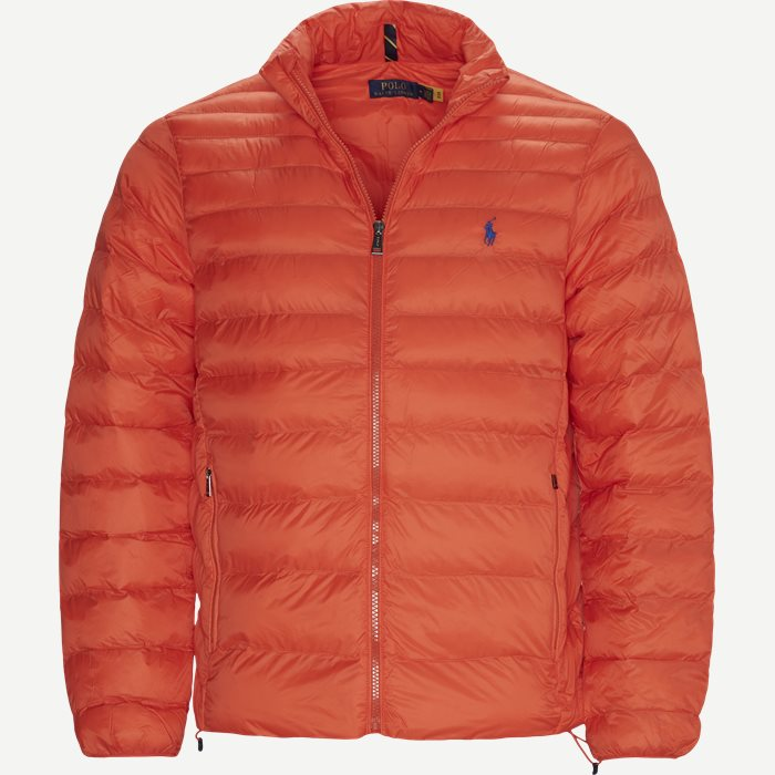 Water Repellent Logo Jacket - Jackor - Regular - Orange
