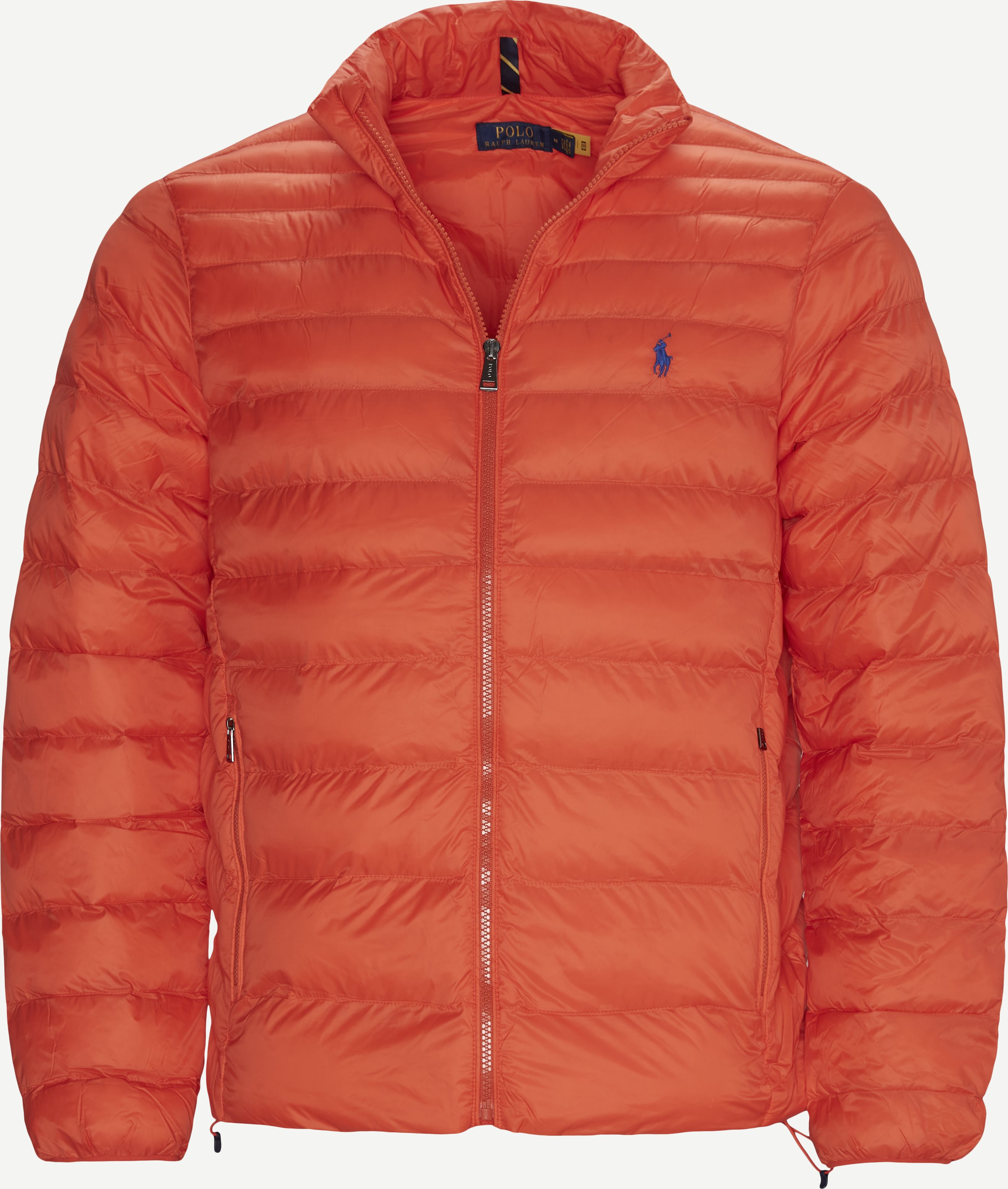 Water Repellent Logo Jacket - Jakker - Regular - Orange