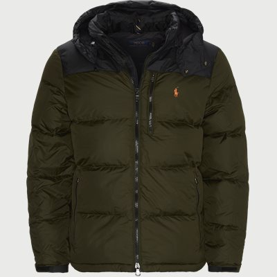 Logo Down Jacket Regular | Logo Down Jacket | Army