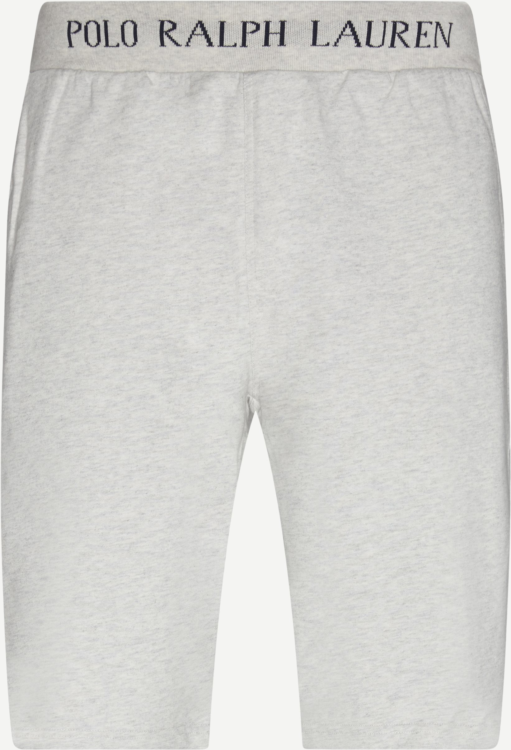 Logo Sweatshorts - Shorts - Regular - Grå