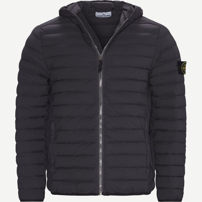 Logo Down Jacket - Jakker - Regular - Grå