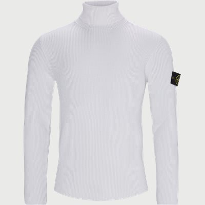 Logo Turtleneck Regular | Logo Turtleneck | Hvid
