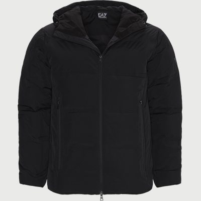 PN2DZ Logo Down Jacket Regular | PN2DZ Logo Down Jacket | Sort
