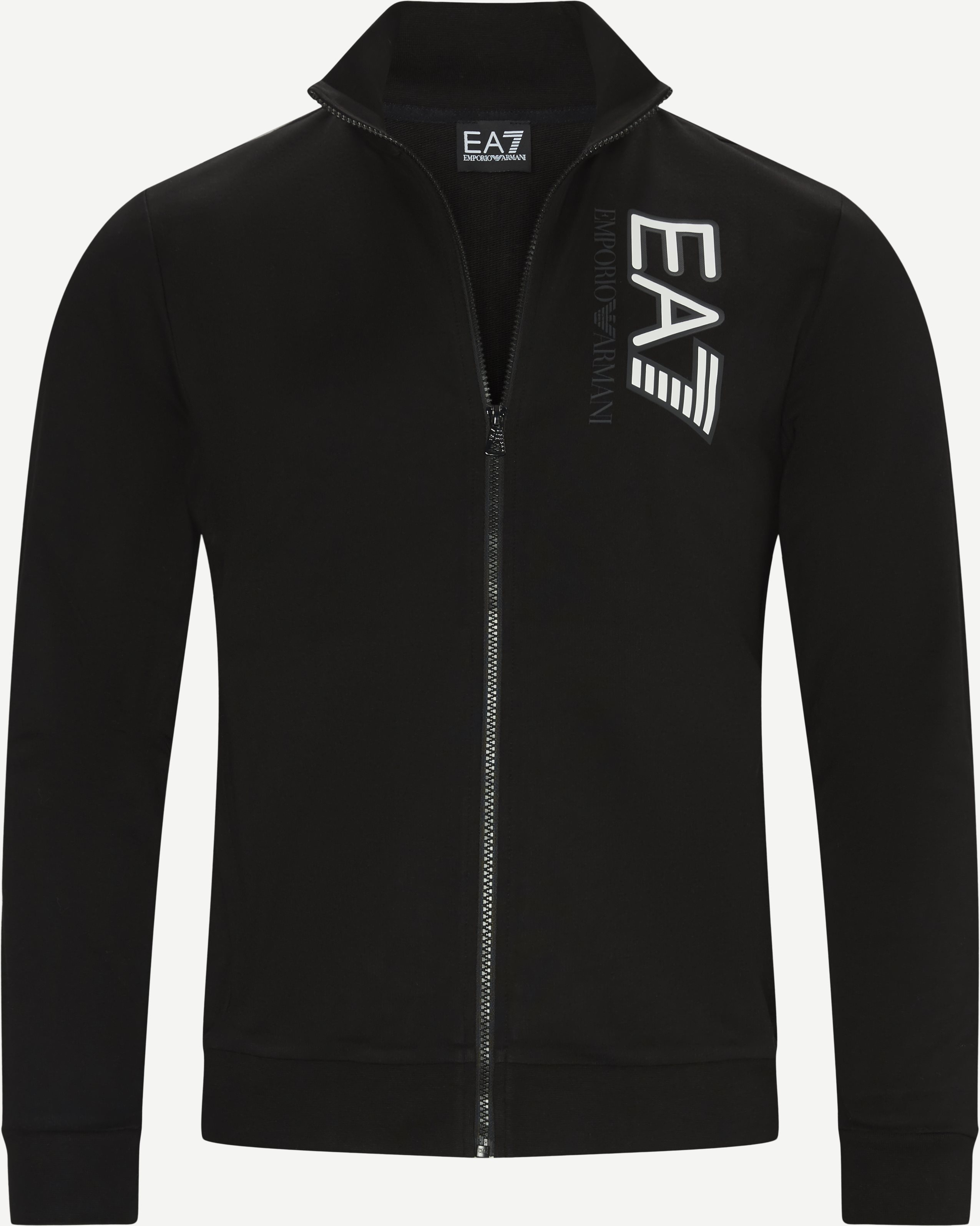 PJ05Z Zip Sweatshirt - Sweatshirts - Regular - Sort