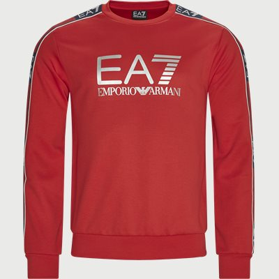 PJ3MZ Logo Sweatshirt Regular | PJ3MZ Logo Sweatshirt | Rød