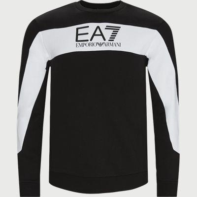 PJ07Z Crewneck Sweatshirt Regular | PJ07Z Crewneck Sweatshirt | Sort