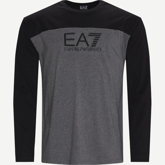 PJT3Z LS T-shirt - T-shirts - Regular - Grå
