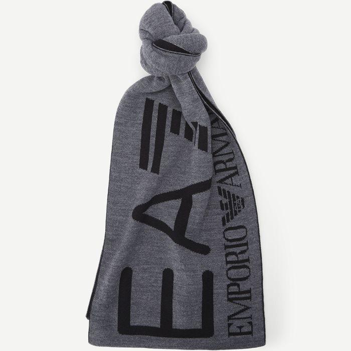 Logo Halstørklæde - Tørklæder - Grå