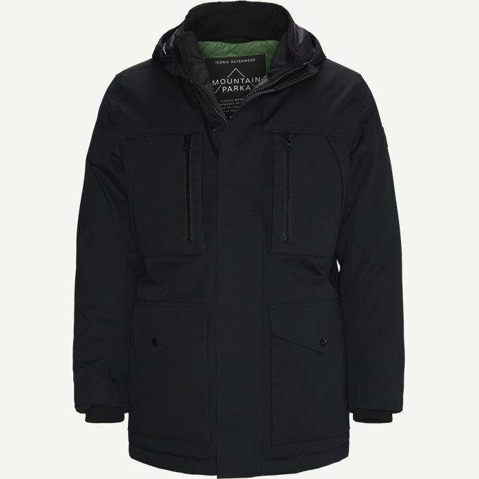 Donatis Jacket - Jackets - Regular - Black