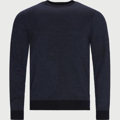 Maurillo Knit Regular | Maurillo Knit | Blå
