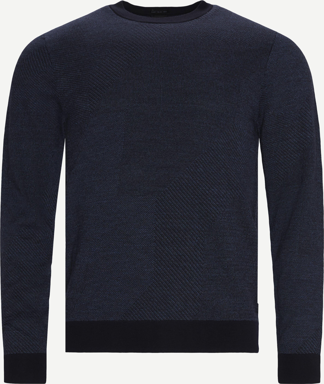 Stickat - Regular - Blå