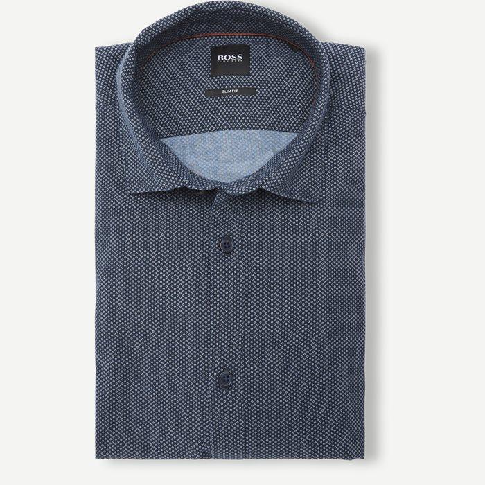Rikki Skjorte - Skjorter - Slim - Blå