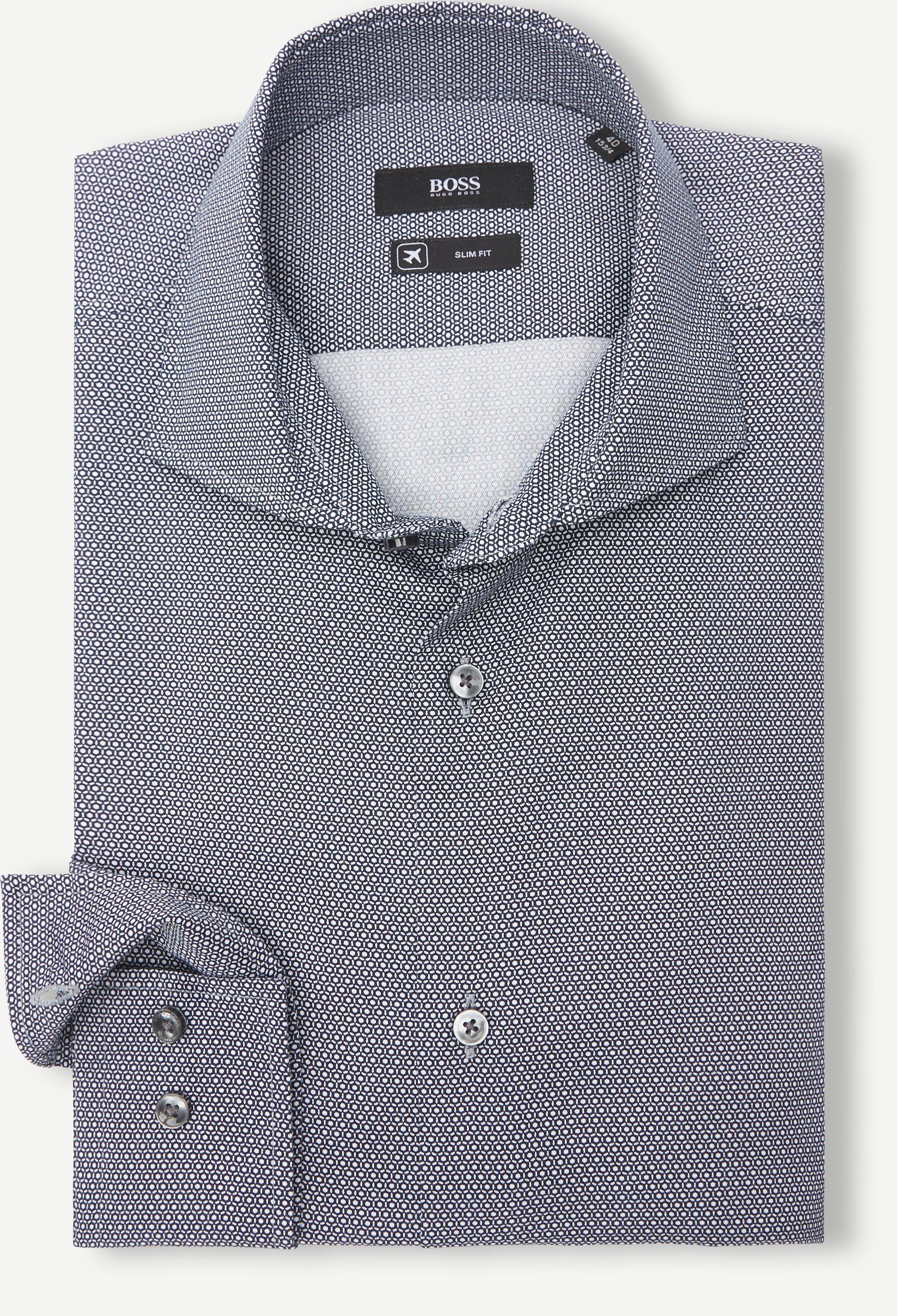 Hemden - Slim fit - Blau