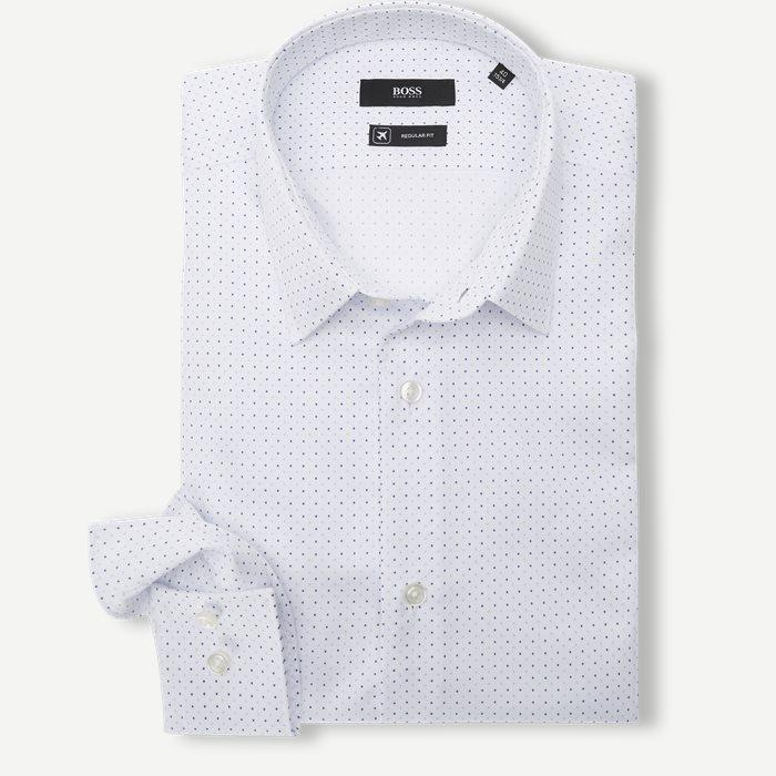 Isko/Eliot Shirt - Skjortor - Vit