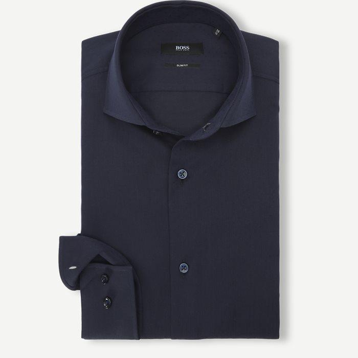 Jason/Gordon Shirt - Skjortor - Blå