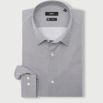Isko Skjorte Slim fit | Isko Skjorte | Sort