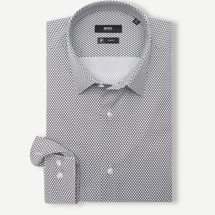 Isko Skjorte - Skjorter - Slim - Sort