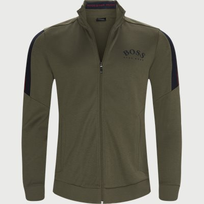 Skaz Zip Sweatshirt Regular | Skaz Zip Sweatshirt | Grøn