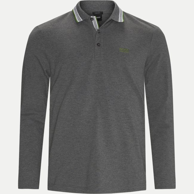 Plisy Langærmet Polo T-shirt