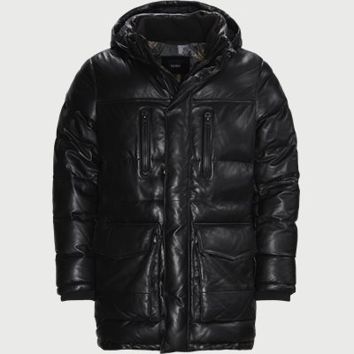 Jacker Leather Jacket Regular fit | Jacker Leather Jacket | Svart