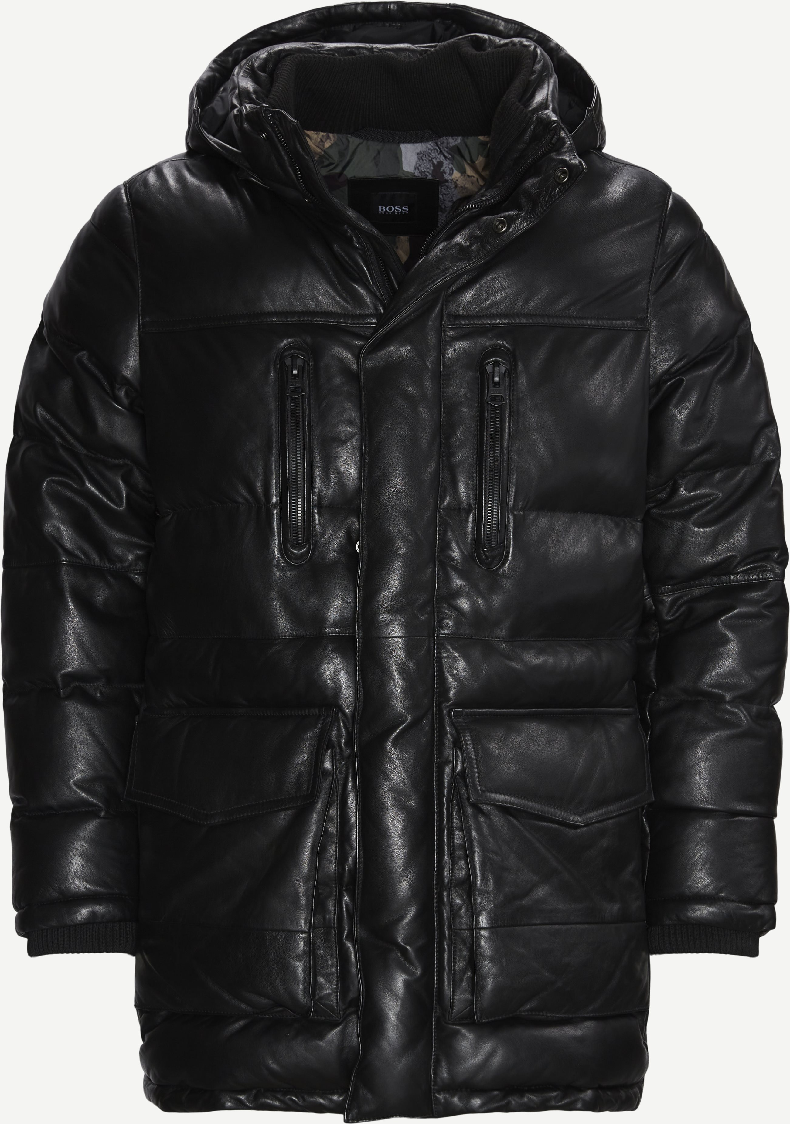 Jacker Leather Jacket - Jackets - Regular fit - Black