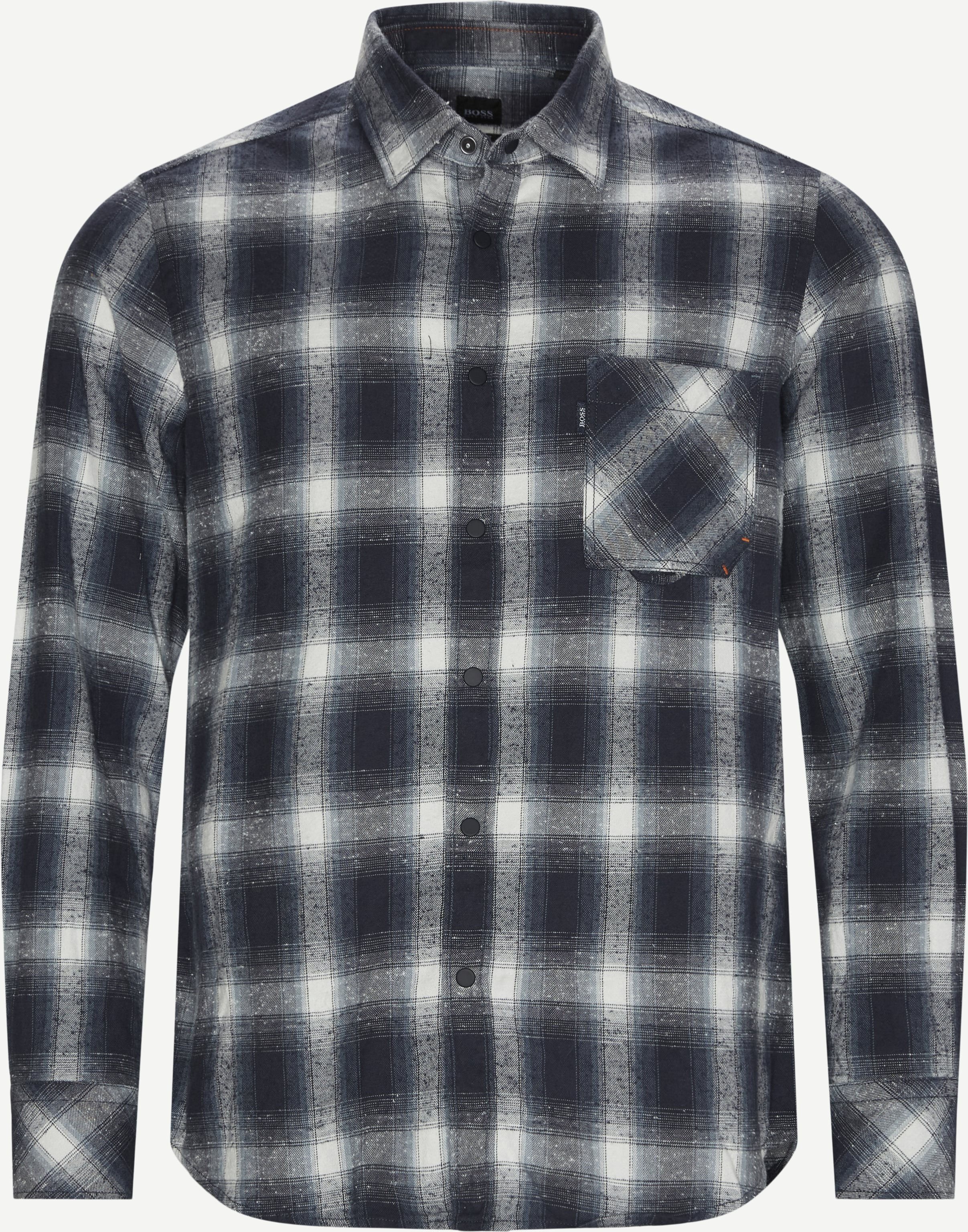 Rioh Skjorte - Shirts - Regular - Blue
