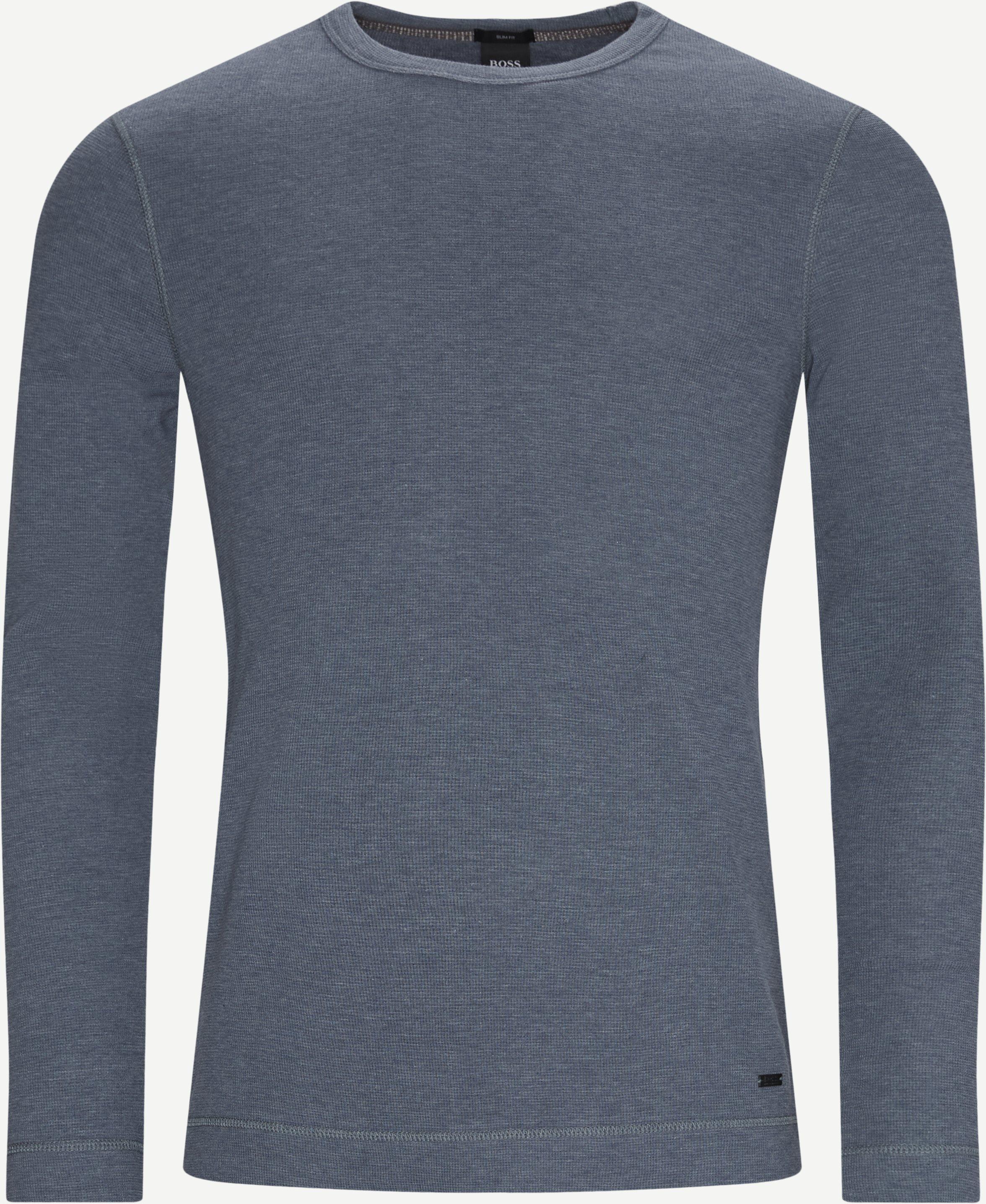 T-shirts - Slim fit - Denim