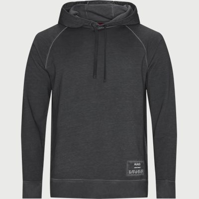 Dersh Hooded Sweatshirt Regular | Dersh Hooded Sweatshirt | Grå