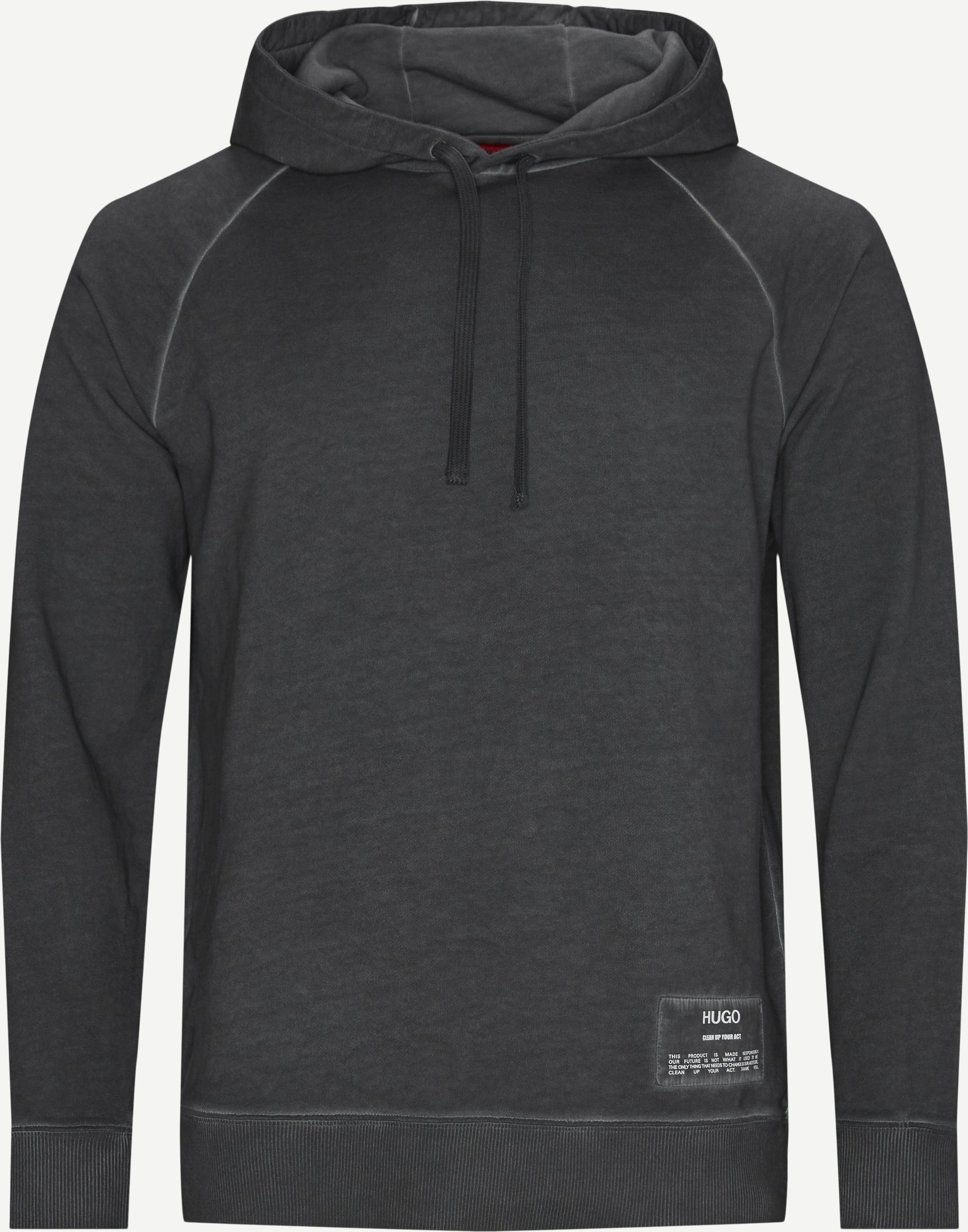 Dersh Hooded Sweatshirt - Sweatshirts - Regular - Grå