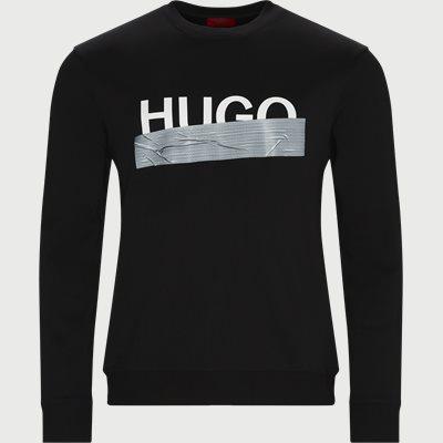 Dicago Crewneck Sweatshirt Regular | Dicago Crewneck Sweatshirt | Sort