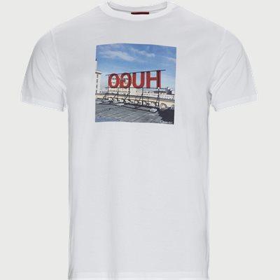 DUS T-shirt Regular fit | DUS T-shirt | Hvid