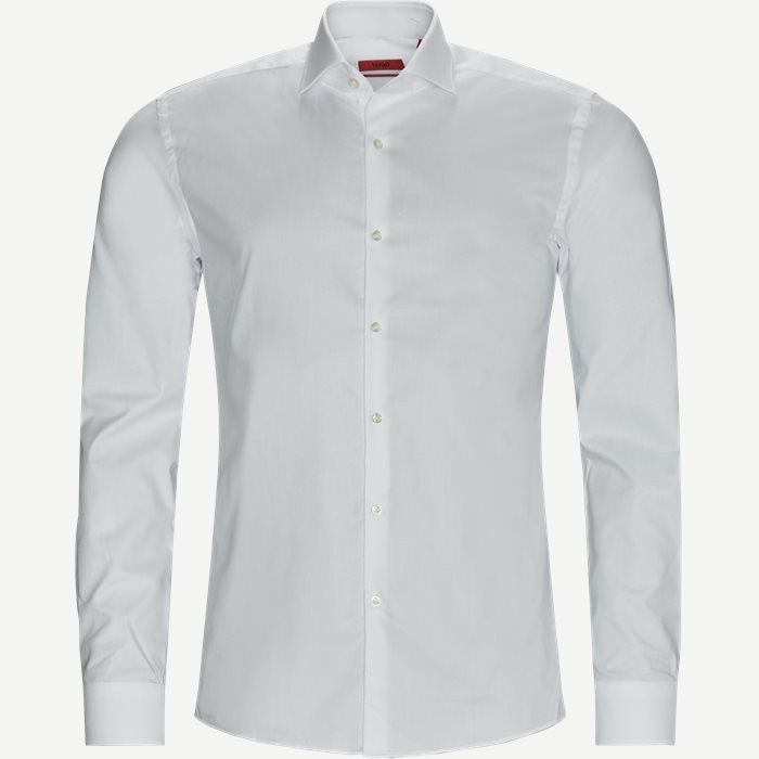 Kason Skjorte - Skjorter - Slim - Hvid