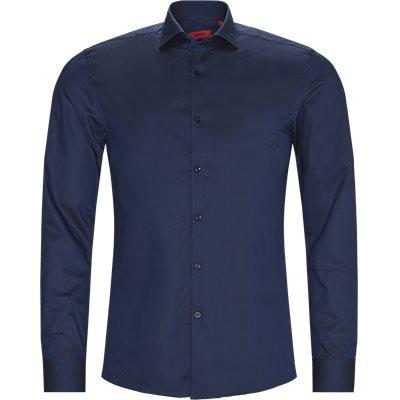 Slim   Skjortor   Blå