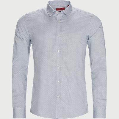 Elisha Shirt Ekstra slim fit | Elisha Shirt | Blå