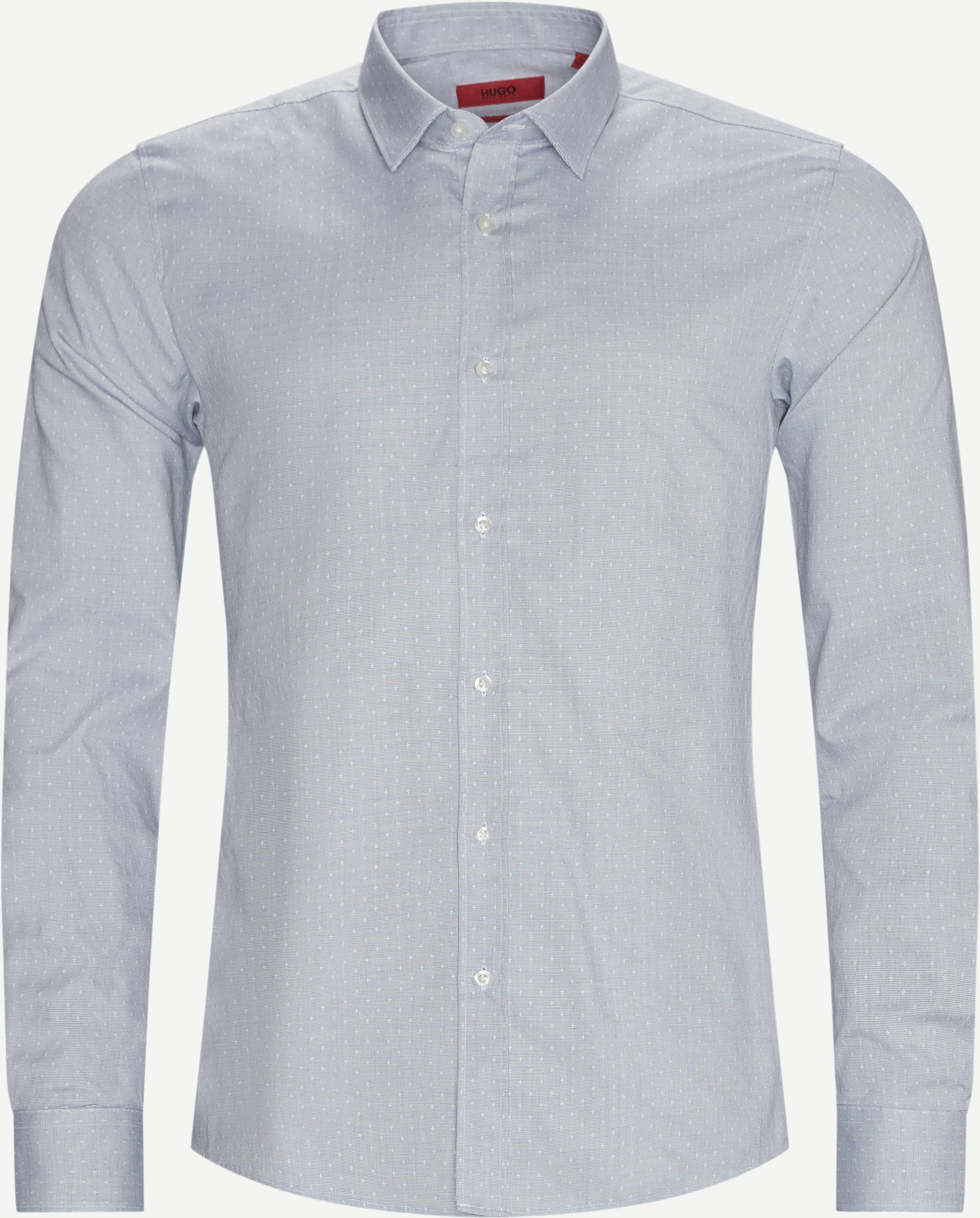 Elisha Shirt - Skjortor - Ekstra slim fit - Blå