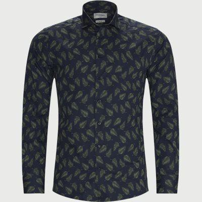 Jimmy Skjorte Slim | Jimmy Skjorte | Blå