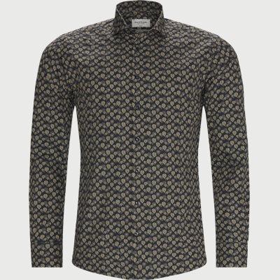 Munson Skjorte Slim | Munson Skjorte | Blå