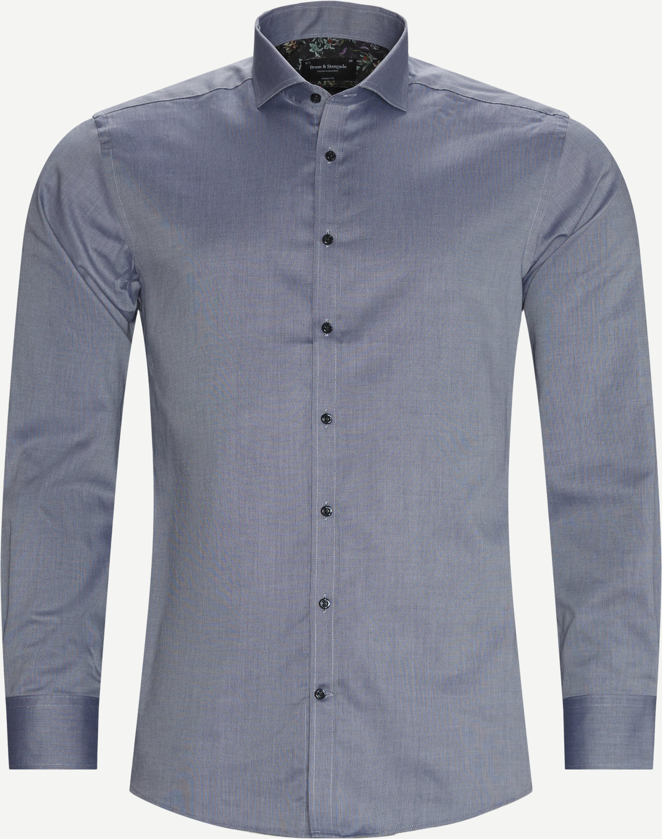 Felix Skjorte - Skjorter - Modern fit - Blå