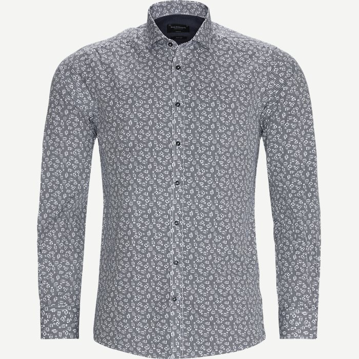 Gurreiro Skjorte - Skjorter - Modern fit - Sort