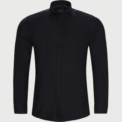 Modern fit | Hemden | Schwarz