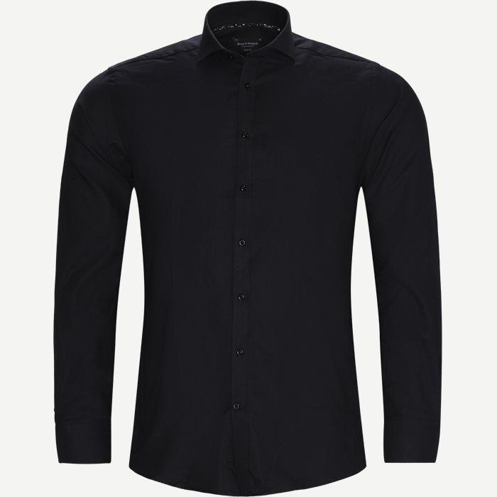 Sarri Skjorte - Skjorter - Modern fit - Sort