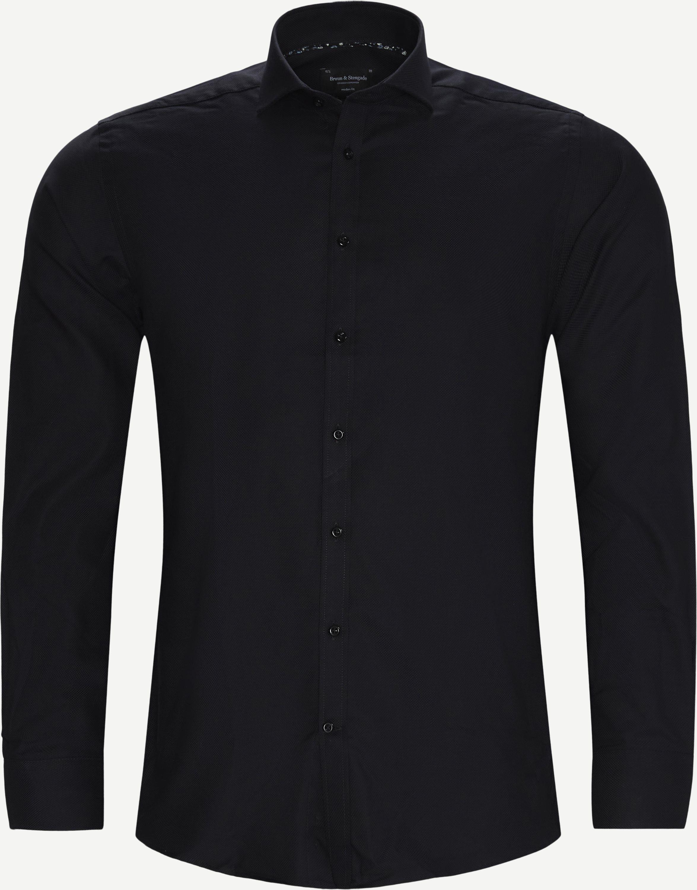 Hemden - Modern fit - Schwarz