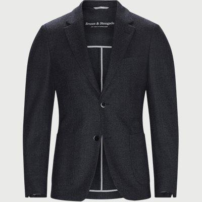Maxi Unconstructed blazer Slim | Maxi Unconstructed blazer | Blå