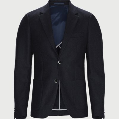 Juan Unconstructed blazer Slim | Juan Unconstructed blazer | Blå